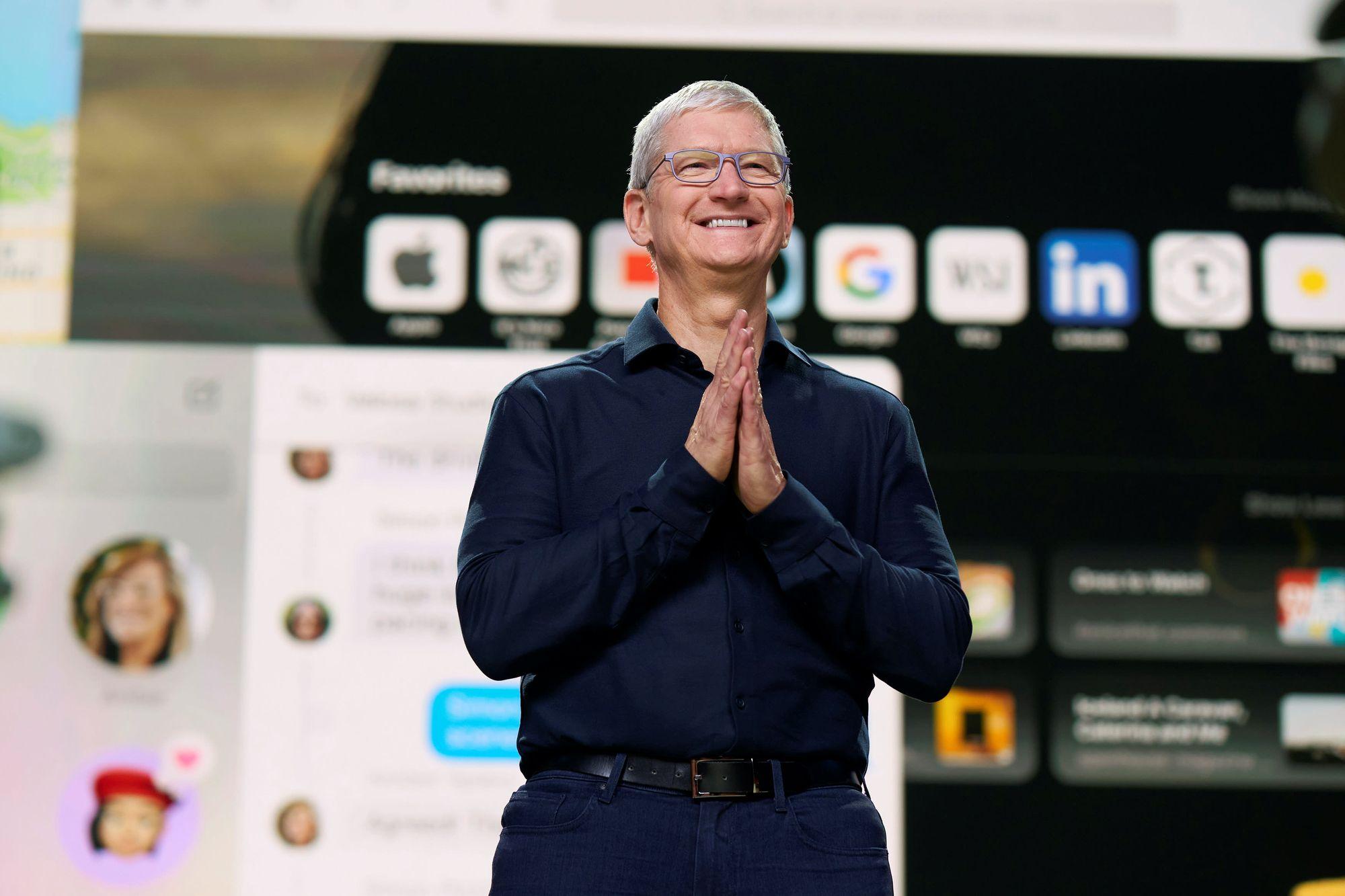 Tim Cook, PDG d'Apple